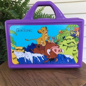 🖍Vintage 90s The Lion King Coloring Crayon Box🖍